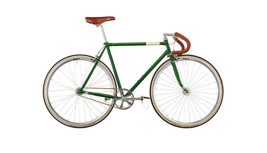 Creme Vinyl Doppio fixed gear singlespeed/fixed gear groen